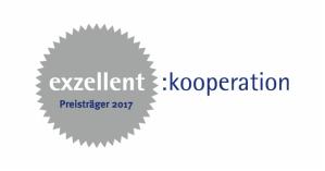 Logo: exzellent:kooperation Preisträger 2017